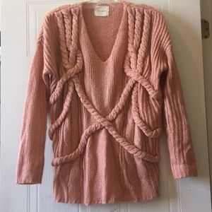 Cute Cable Knitted Sweater 😍